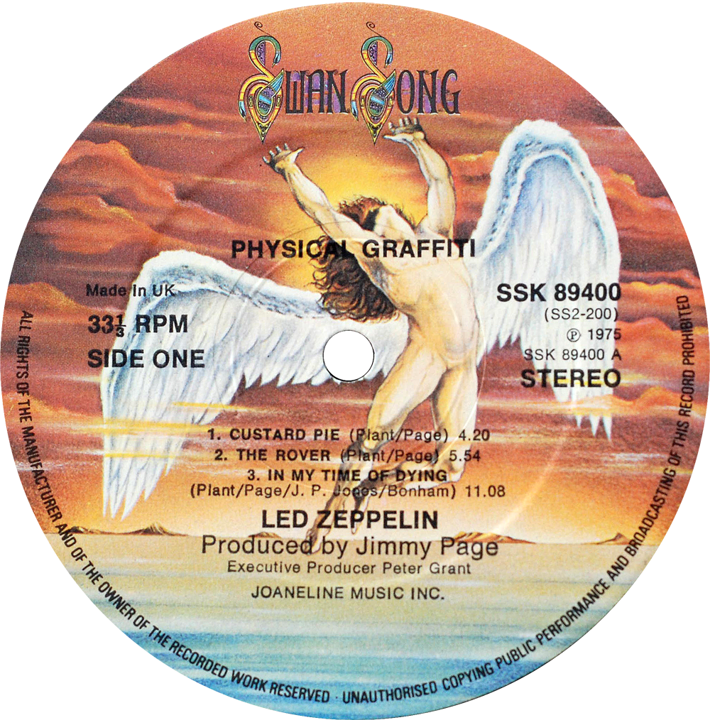 Swan Song Rare Record Collector