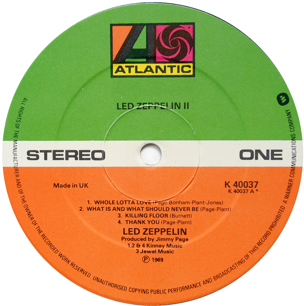 588198 Led Zeppelin Ii Rare Record Collector