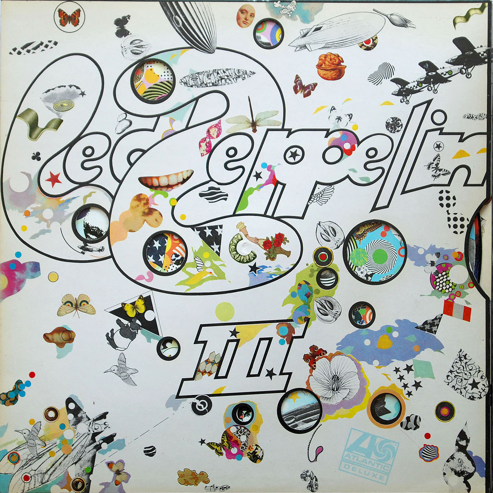 2401002 Led Zeppelin Iii Rare Record Collector