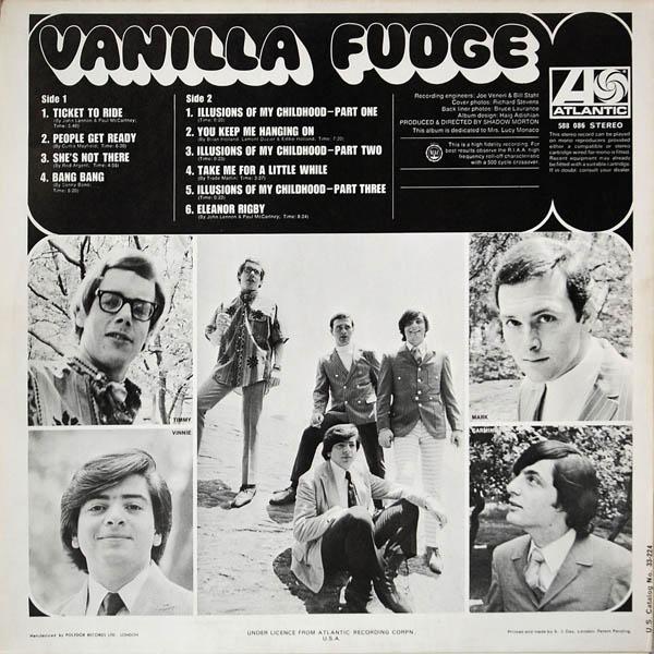 Afbeeldingsresultaat voor Vanilla Fudge