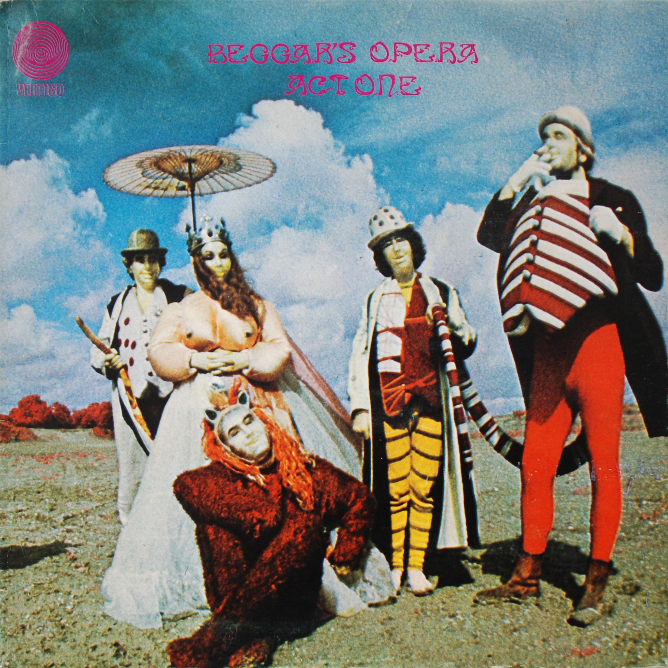 6360 018 Beggars Opera Rare Record Collector