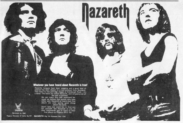 Nazareth LP ad