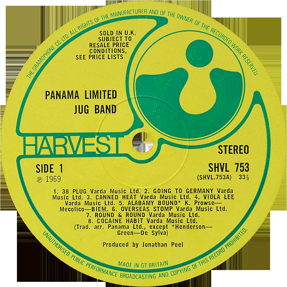 Shvl 753 Panama Limited Jug Band Rare Record Collector