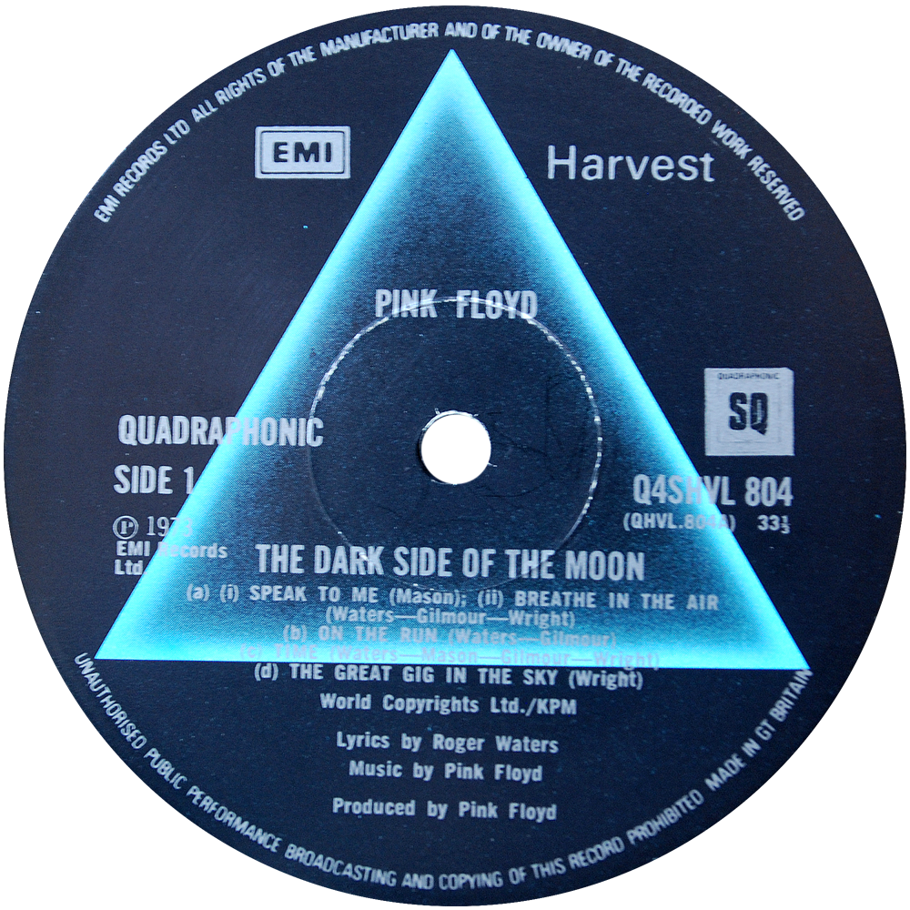 Q4shvl 804 Pink Floyd Rare Record Collector