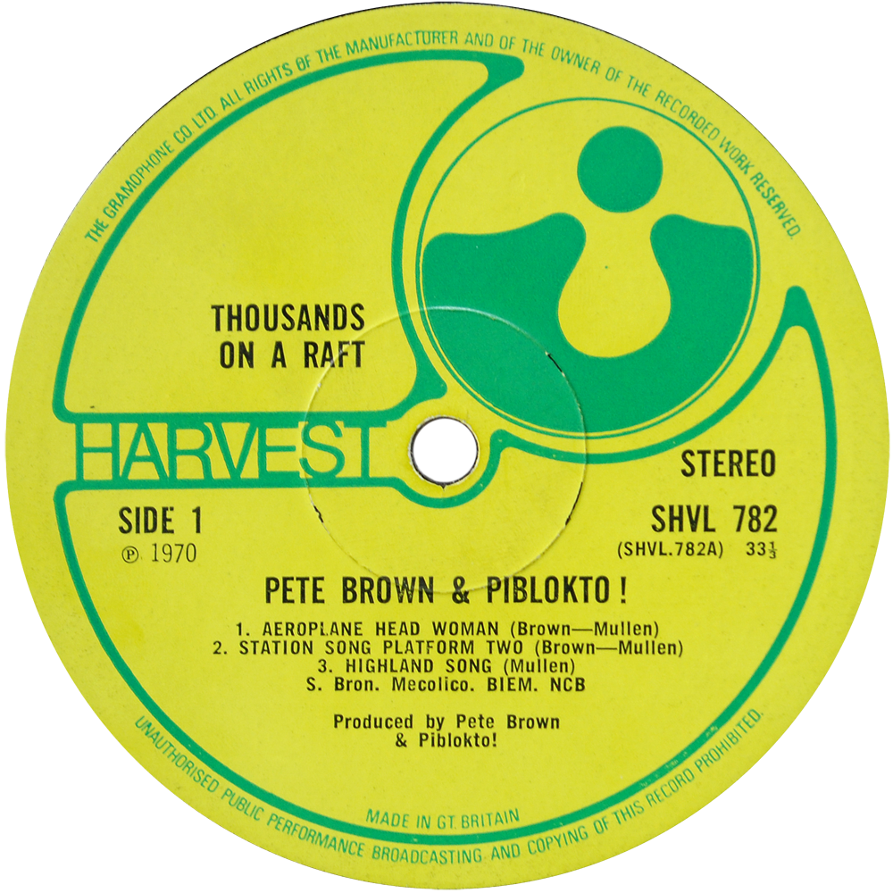 Pete Brown & Piblokto! - Things May Come And Things May Go, But The Art School Dance Goes On Forever