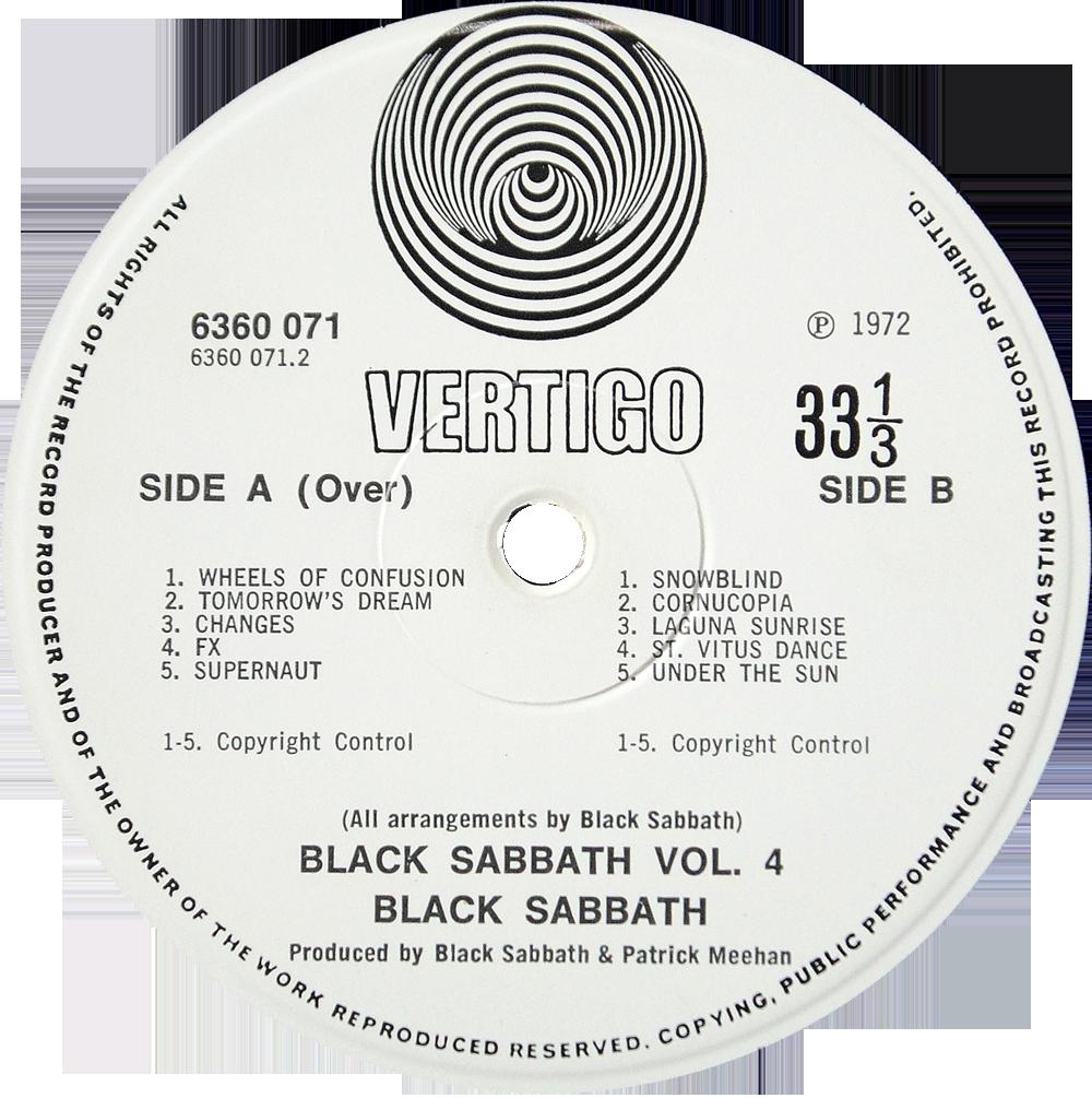 6360 071 – Black Sabbath