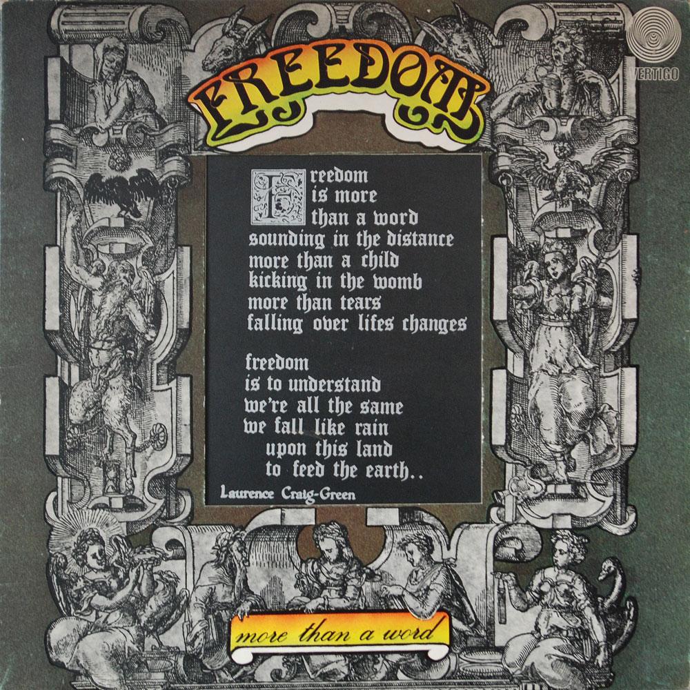 6360 072 Freedom Rare Record Collector