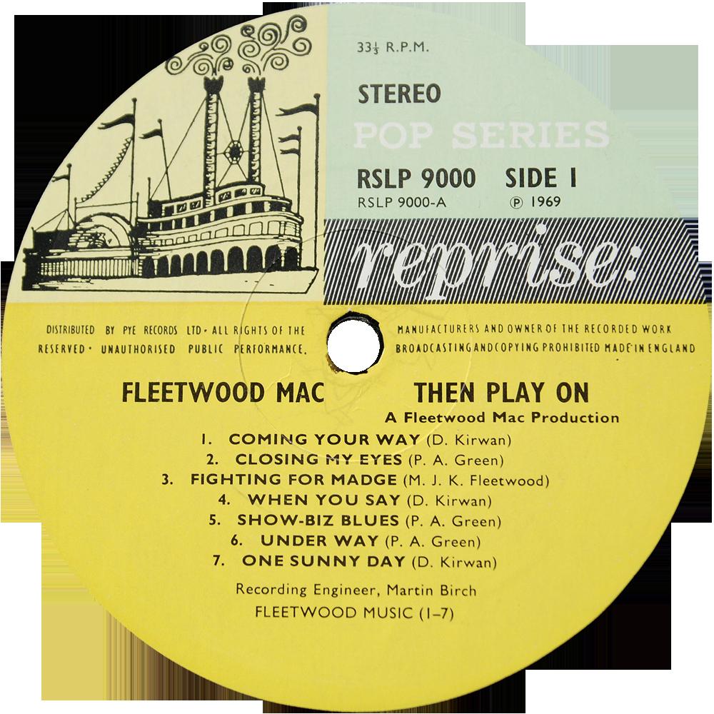 Reprise Rslp9000 Fleetwood Mac Rare Record Collector