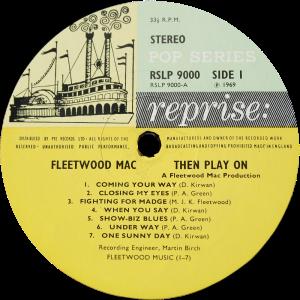 Reprise-RSLP9000-Fleetwood-Mac-label