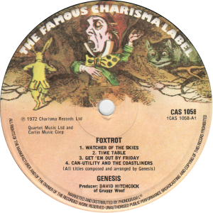 CAS-1058-Genesis-label-reissue