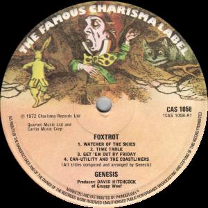 CAS-1058-Genesis-label-reissue
