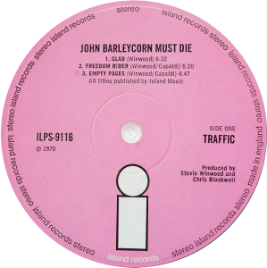 ILPS-9116-Traffic-John-Barleycorn-label