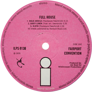 ILPS-9130-Fairport-Convention-Full-House-label