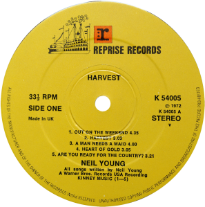 K54005-Neil-Young-Harvest-label