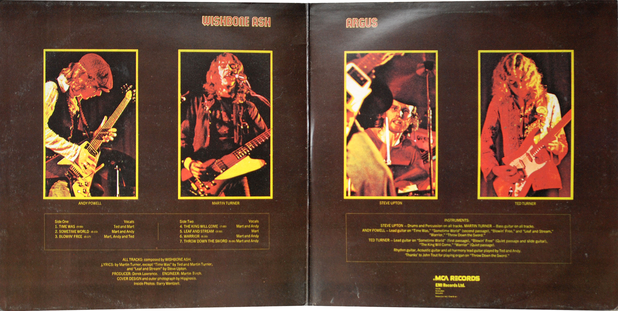 Wishbone Ash Number The Brave