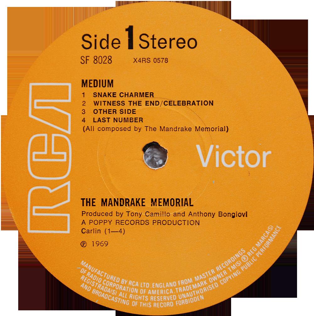 Mandrake Memorial Medium