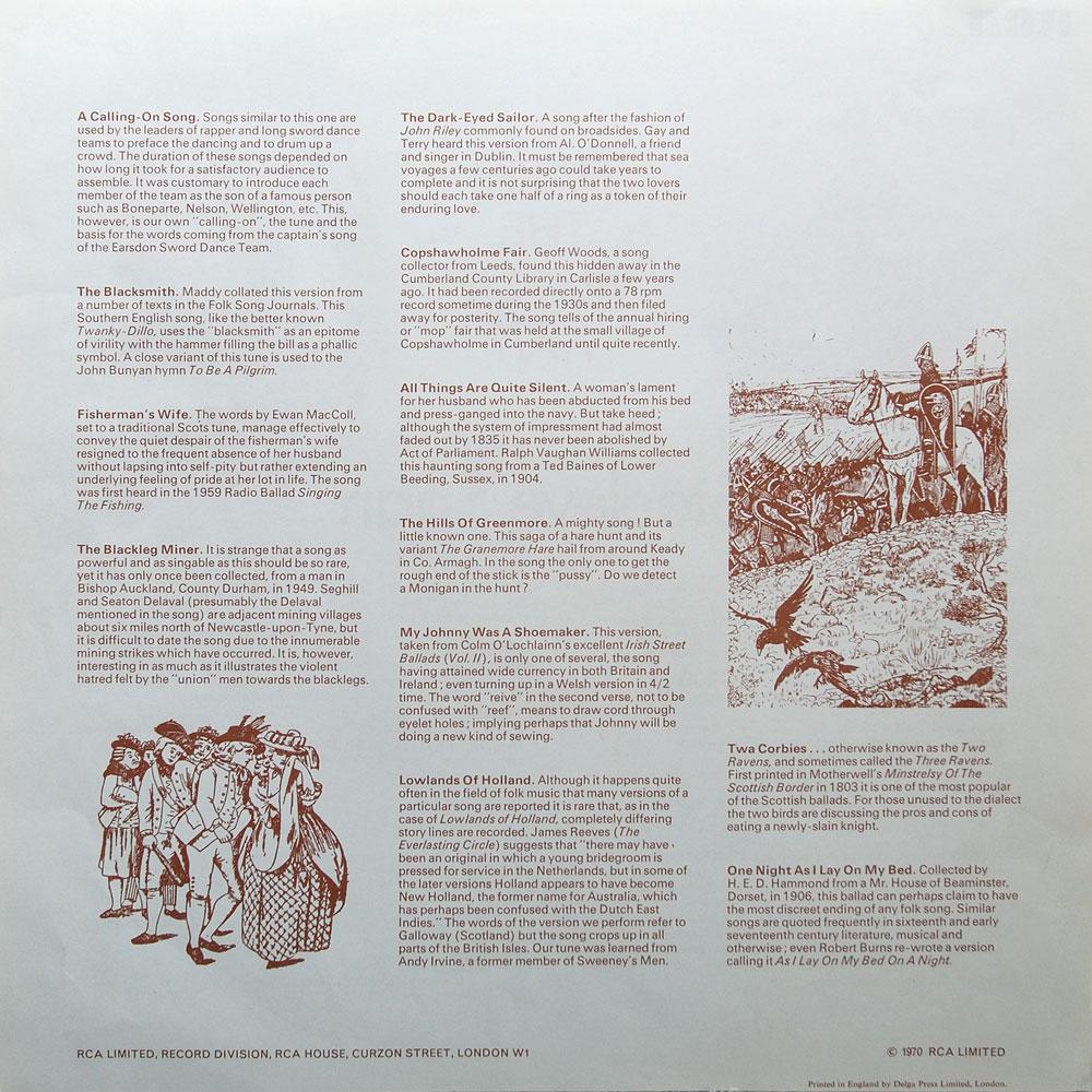 steeleye span song book pdf
