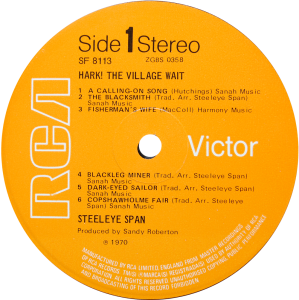 RCA-SF8113-Steeleye-Span-label
