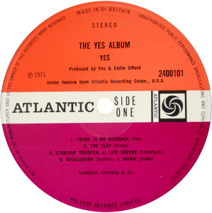 Yes-The-Yes-Album-label