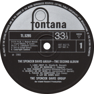Fontana-TL5295-Spencer-Davis-label