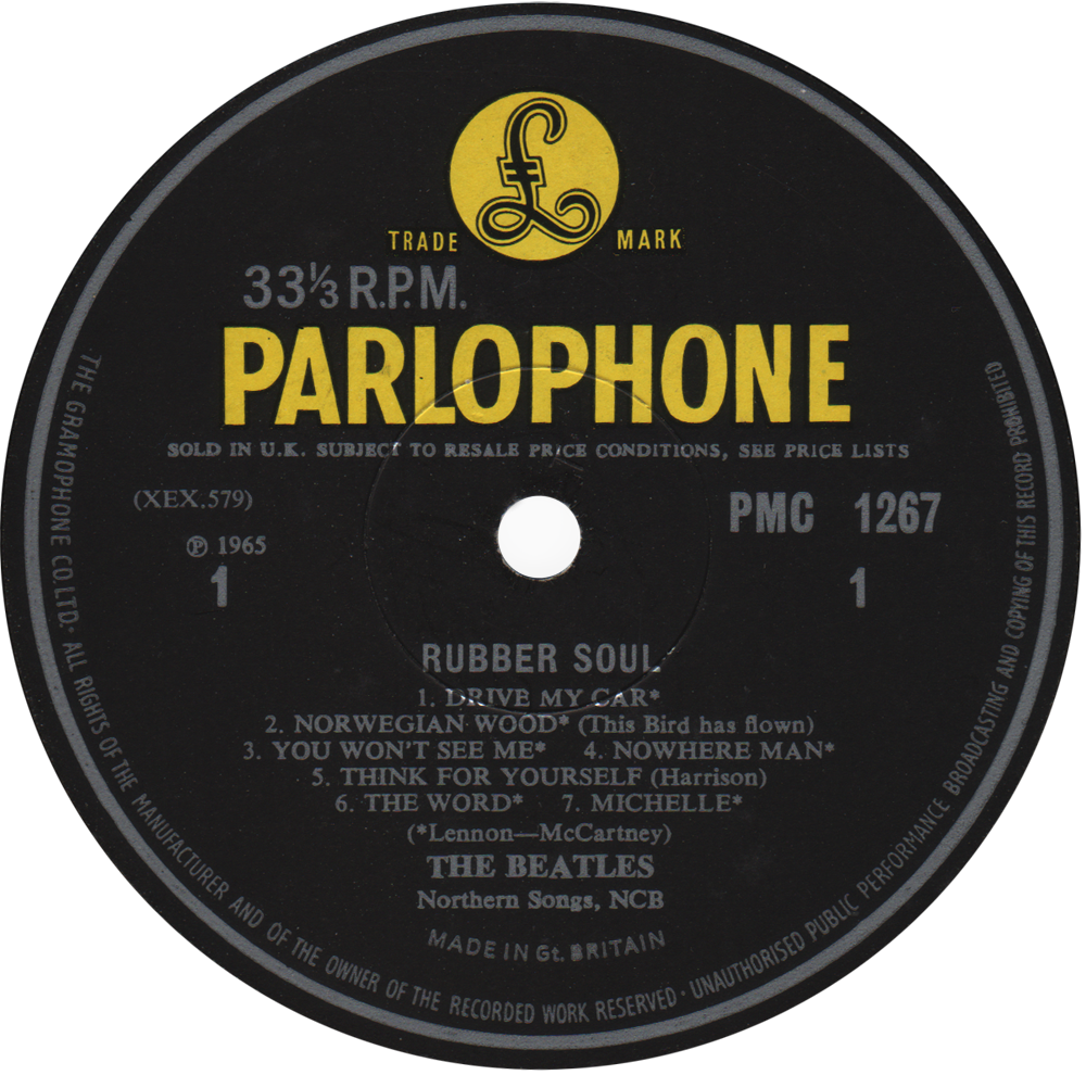 Parlophone Pmc 1267 The Beatles Rare Record Collector