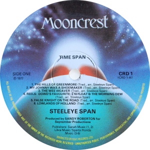 CRD-1-Steeleye-Span-label-1