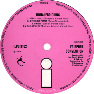 ILPS-9102-Fairport-Convention-Unhalfbricking-label2