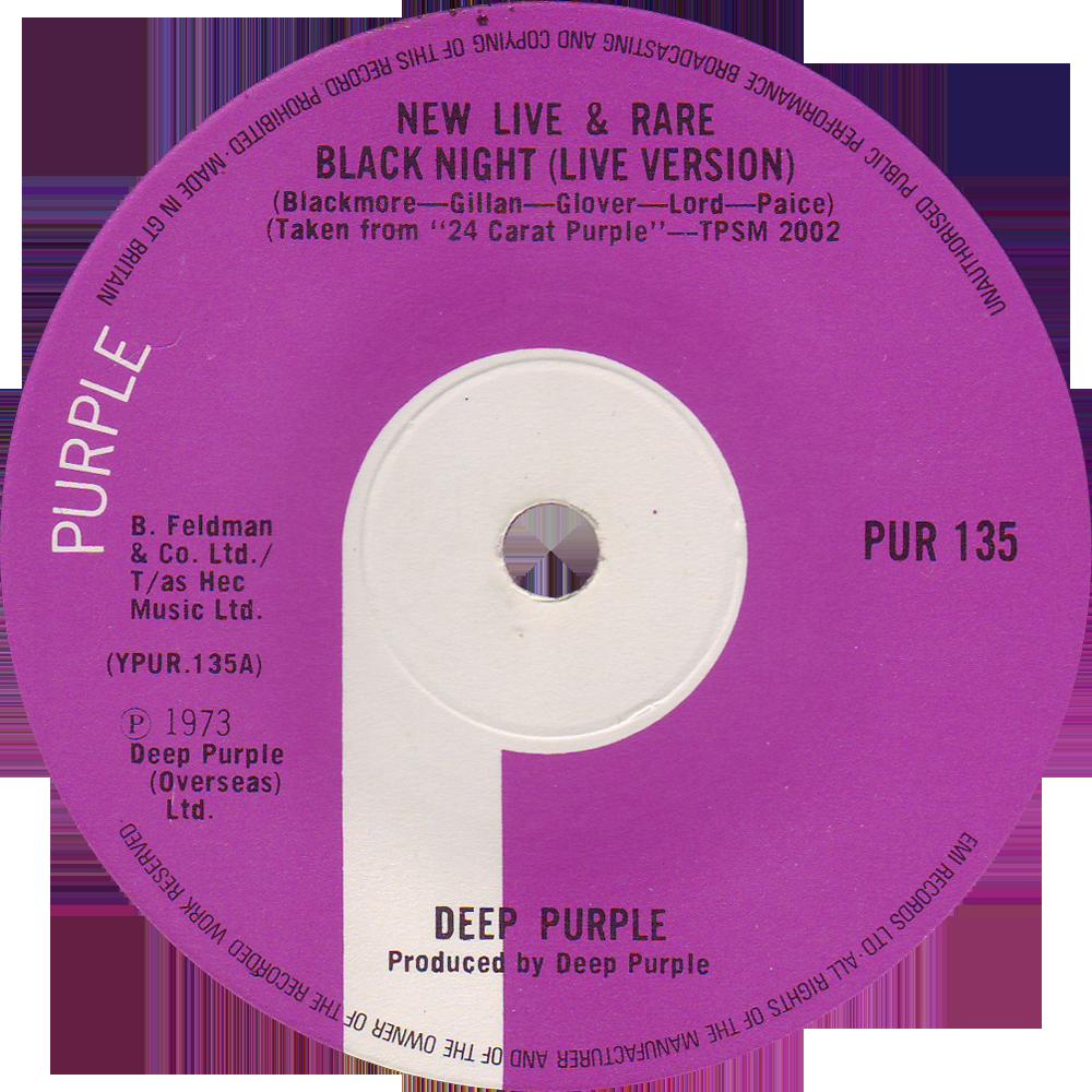 Pur 135 Deep Purple Rare Record Collector