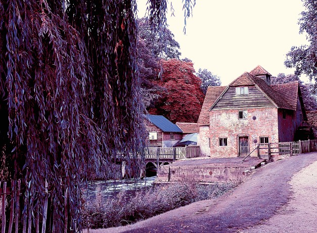 mapledurham false colour