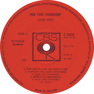 CBS-63510-Laura-Nyro-label