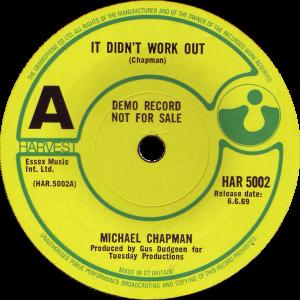 HAR-5002-Michael-Chapman-demo