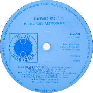 Blue-Horizon-7-63200-Fleetwood-Mac-label