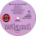 ILPS-9092-Fairport-Convention-label