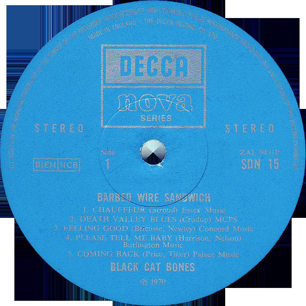 Black Cat Bones, \'Barbed Wire Sandwich\' | Rare Record Collector