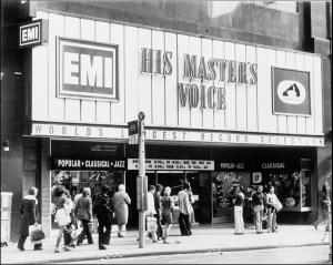 HMV London 1970s