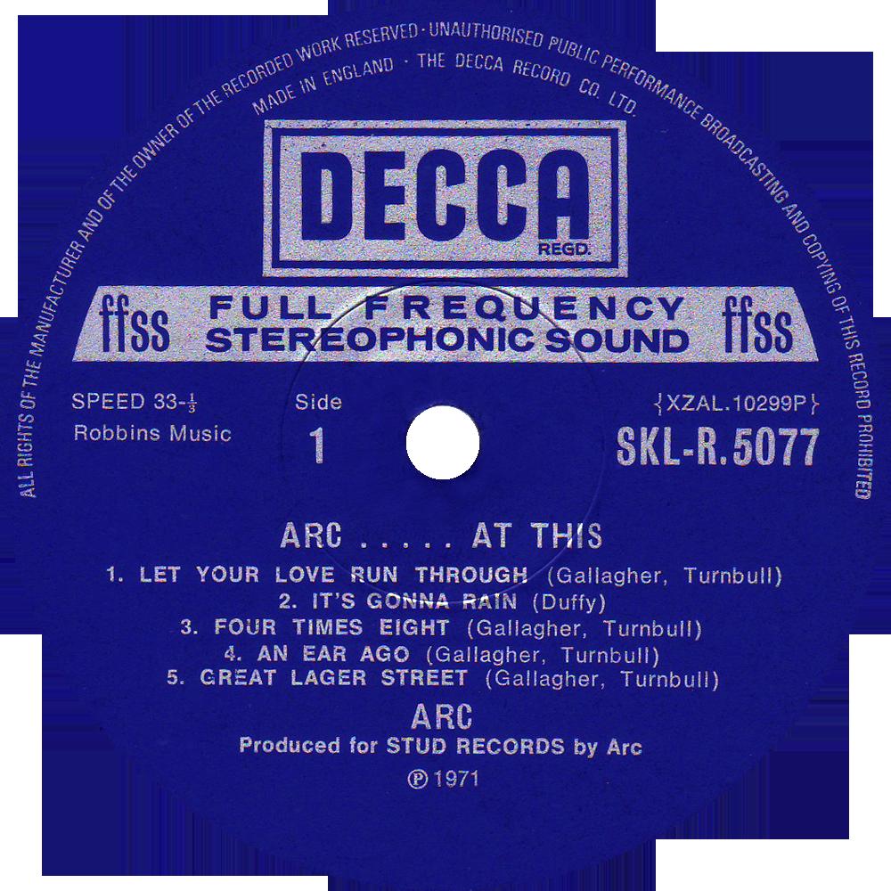 decca sklr 5077 � arc rare record collector