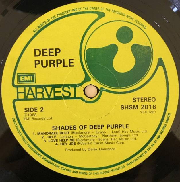 Shades Deep Purple label 2 no Heritage symbol