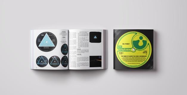 Book cover and spread mockup